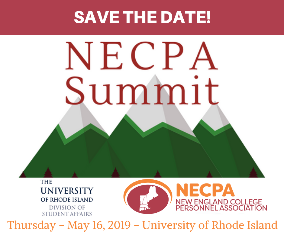 Save the Date- NECPA Summit 2019